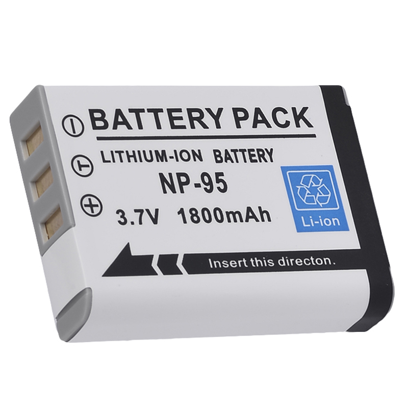 Image is loading NP95-NP-95-Battery-Charger-for-FUJIFILM-Fuji-