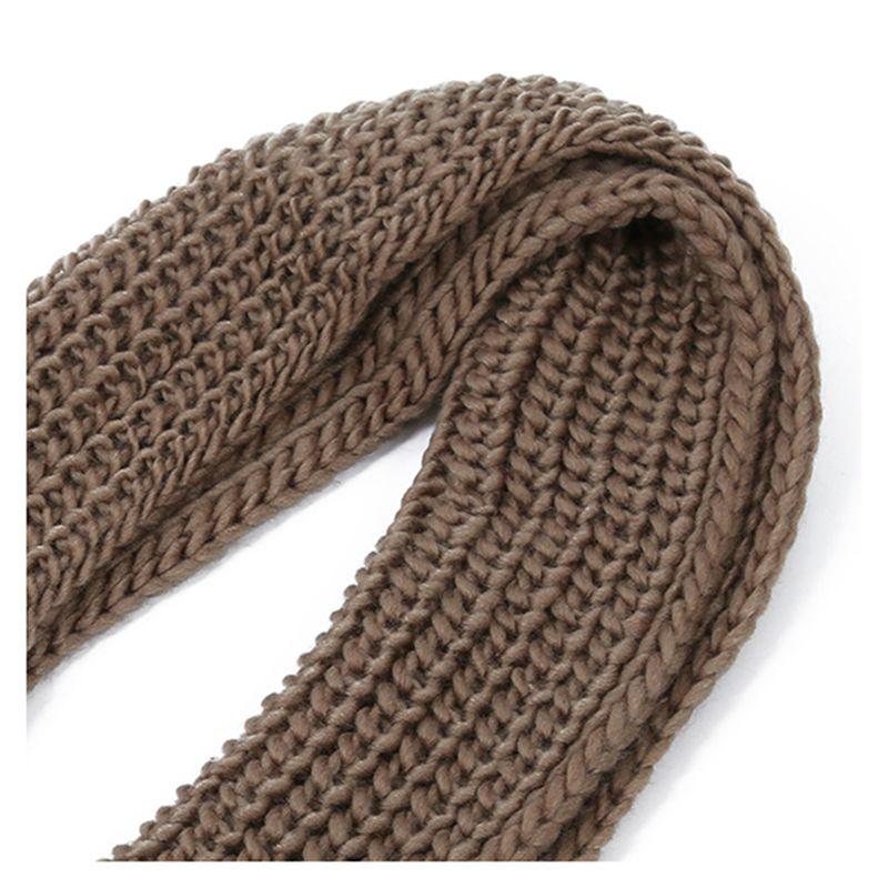 Scaldacollo Donna Sciarpa Lana Scialle Donna Inverno Collo (Marrone) I2S1.  Questo accogliente sciarpa e  il perfetto freddo ANF Caduta compagno. 4bd59ad5081a