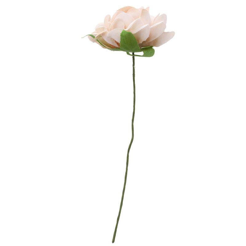 6PCS-Lot-DIY-Nouvelle-Fleur-De-Soie-Rose-Artificielle-Bouquet-De-Fleurs-Pou-L1X7 miniature 5