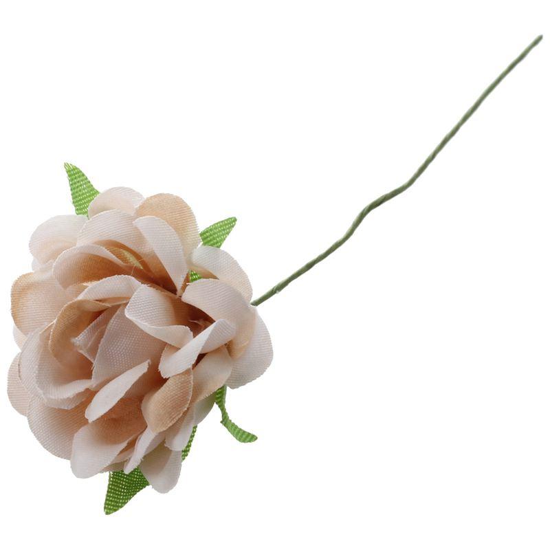 6PCS-Lot-DIY-Nouvelle-Fleur-De-Soie-Rose-Artificielle-Bouquet-De-Fleurs-Pou-L1X7 miniature 7