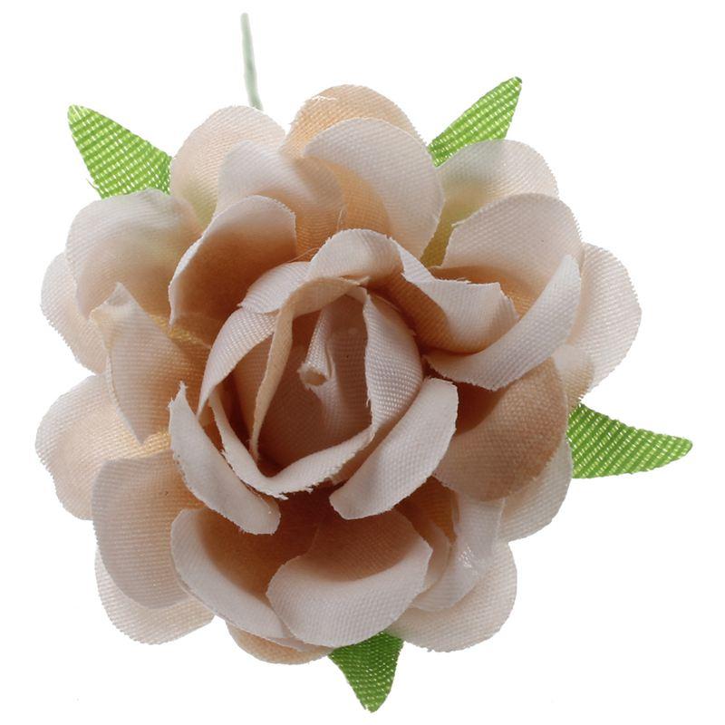 6PCS-Lot-DIY-Nouvelle-Fleur-De-Soie-Rose-Artificielle-Bouquet-De-Fleurs-Pou-L1X7 miniature 8