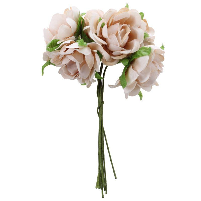 6PCS-Lot-DIY-Nouvelle-Fleur-De-Soie-Rose-Artificielle-Bouquet-De-Fleurs-Pou-L1X7