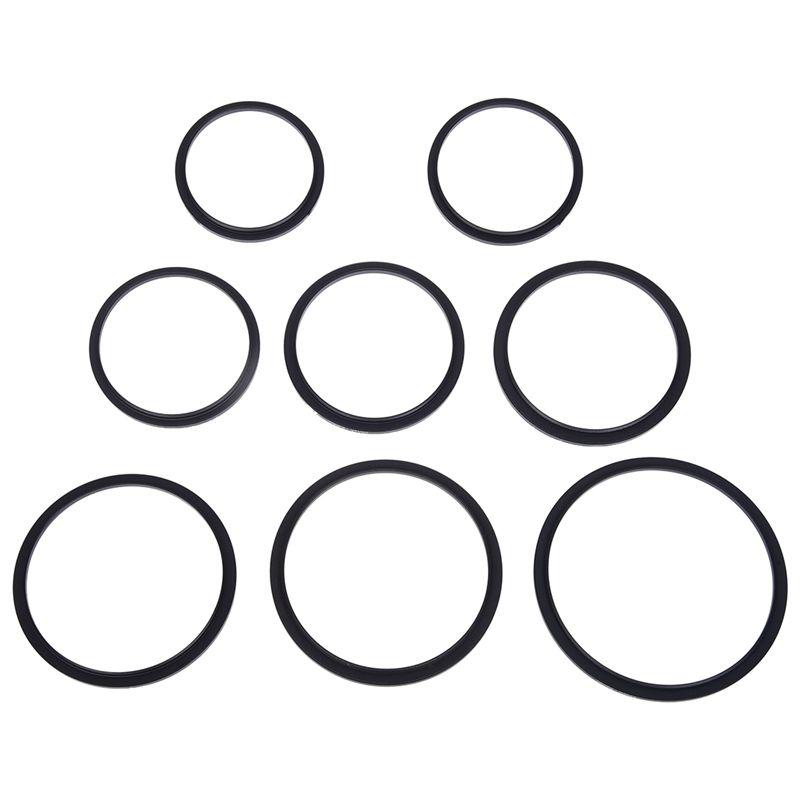 8x step up   8x step down ring filter uv cpl set 49 52 55