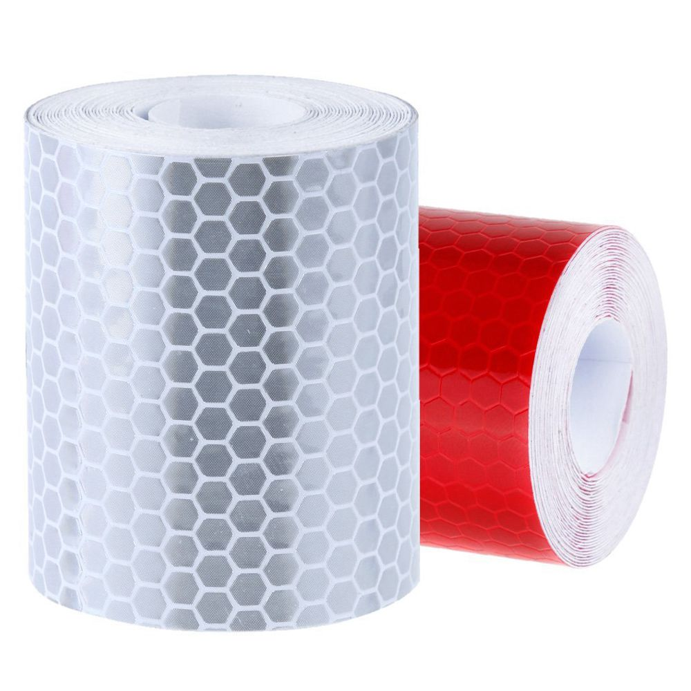 2x 50mmx3m adhesive tape warning tape reflector tape security 2 x reflective tape note light shooting and different displays may cause the color of the item in the picture a little different from the real thing aloadofball Choice Image