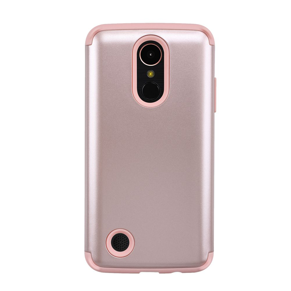 brand new 2ad88 dba52 For LG K10 (2017)Case,For LG K10 Slim Protection Dual Layer Hybrid Scratch  V9S6