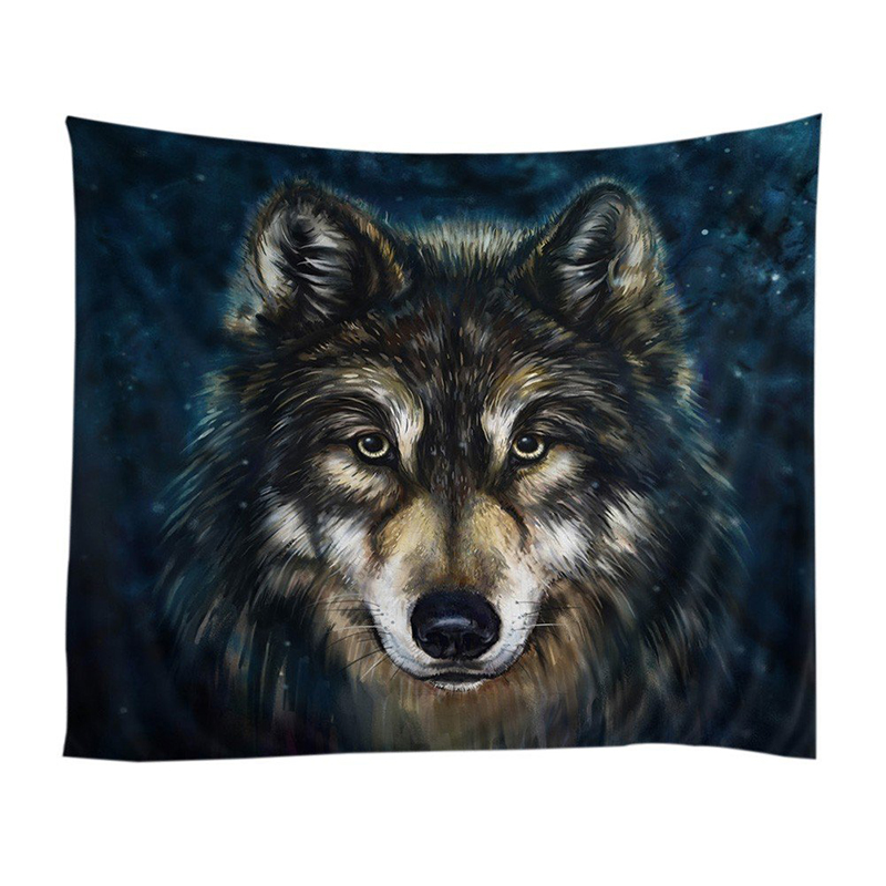 Realistic-Wolf-Printed-Wall-Hanging-Tapestry-with-Romantic-Pictures-Art-Nat-I7C9