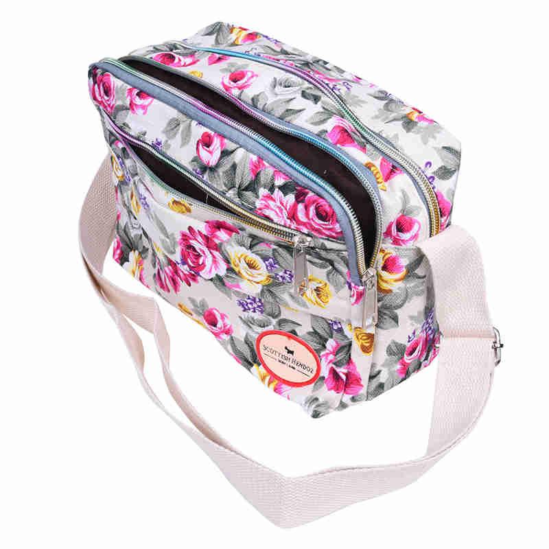 2X-Fashion-Printing-Women-Messenger-Bags-Canvas-Sport-Bags-Mummy-Bag-Ladies2D6 thumbnail 12