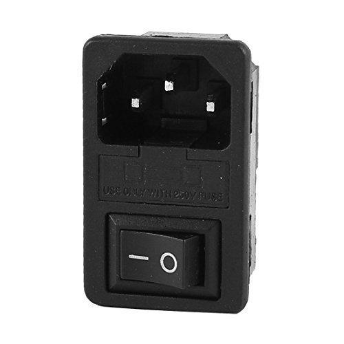 5X-IEC-320-C14-interruptor-de-balancin-fusible-Macho-Fuente-de-alimentacion-M9D8