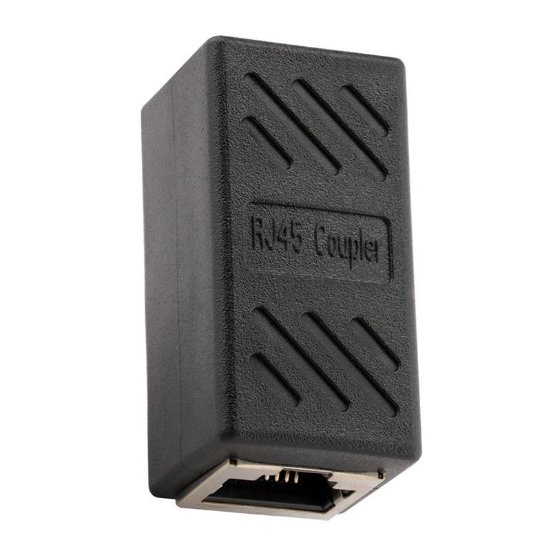 1X-Adaptateur-Ethernet-Rj45-Coupleur-En-Ligne-Blinde-Pour-Connecteur-C2F8 miniature 3