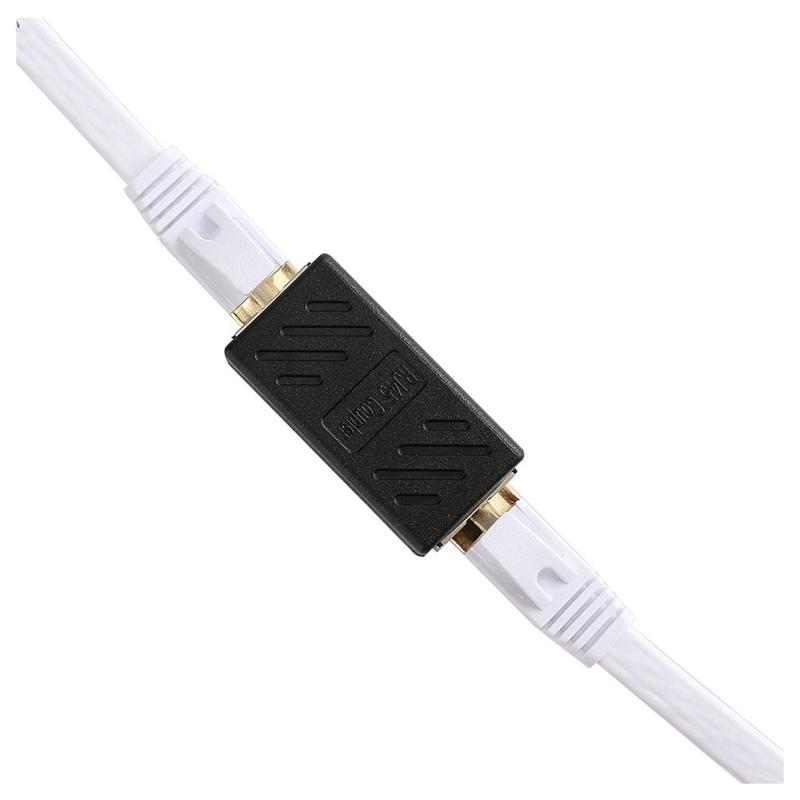 1X-Adaptateur-Ethernet-Rj45-Coupleur-En-Ligne-Blinde-Pour-Connecteur-C2F8 miniature 5