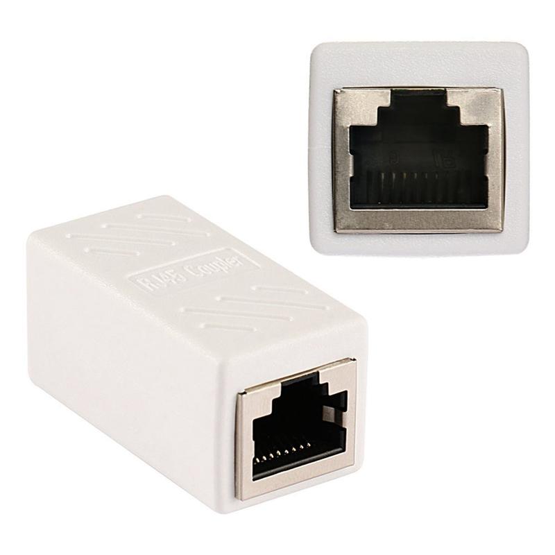 1X-Adaptateur-Ethernet-Rj45-Coupleur-En-Ligne-Blinde-Pour-Connecteur-C2F8 miniature 7