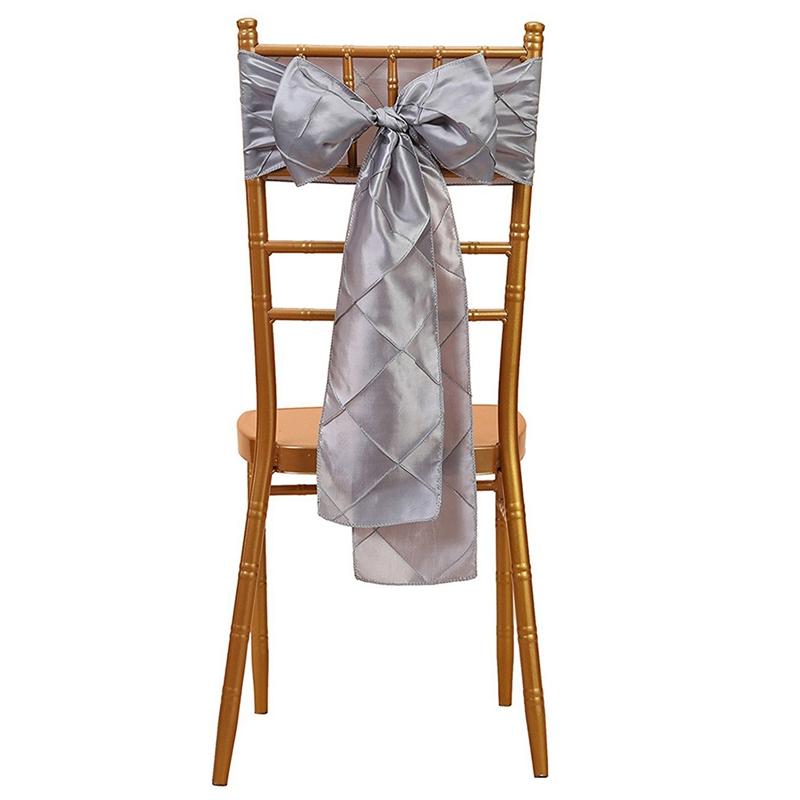 Image Is Loading 1Pcs 6X108 Inch Trellis Chair Sashes Ribbon Bows