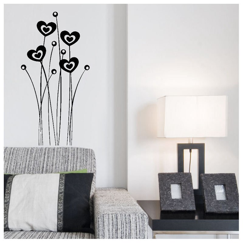 Wall Stickers Removable Decal Transfer Interior Home Art PVC Decor Quote E8U7