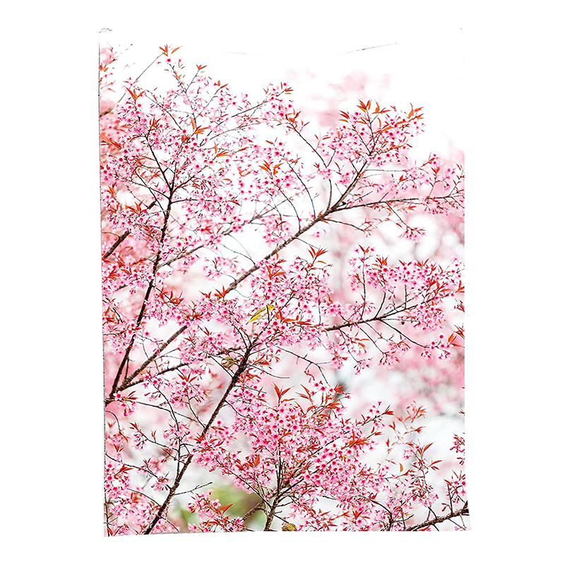 Details About Sakura Cherry Trees Blossom Spring Garden Park Wall Hanging Tapestry A9z3