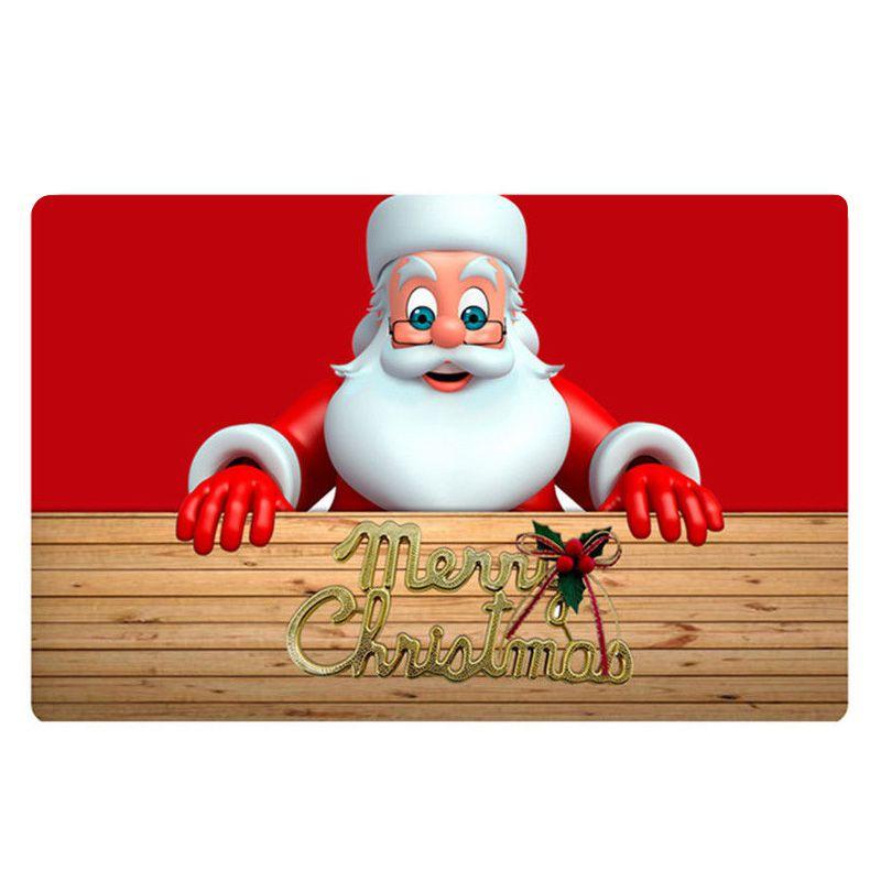 Alfombra de Navidad de Fiesta Anti Fatiga para Cocina Dormitorio Alfombra roja +