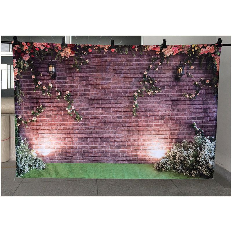 7x5ft-Flowers-Wall-Photography-Backdrops-Brick-Backdrop-Spring-Stuido-Backg-S2A6