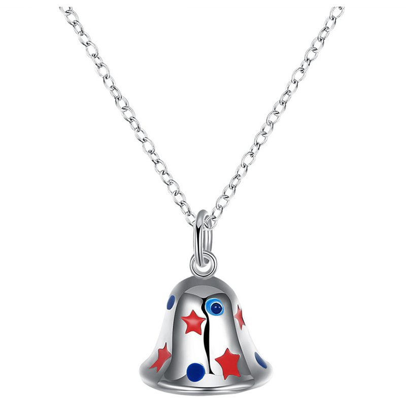 Lovely christmas pendant necklace cute necklace pendants jewelry 2 lovely christmas pendant necklace cute necklace pendants jewelry 2 silver q9q7 aloadofball Image collections