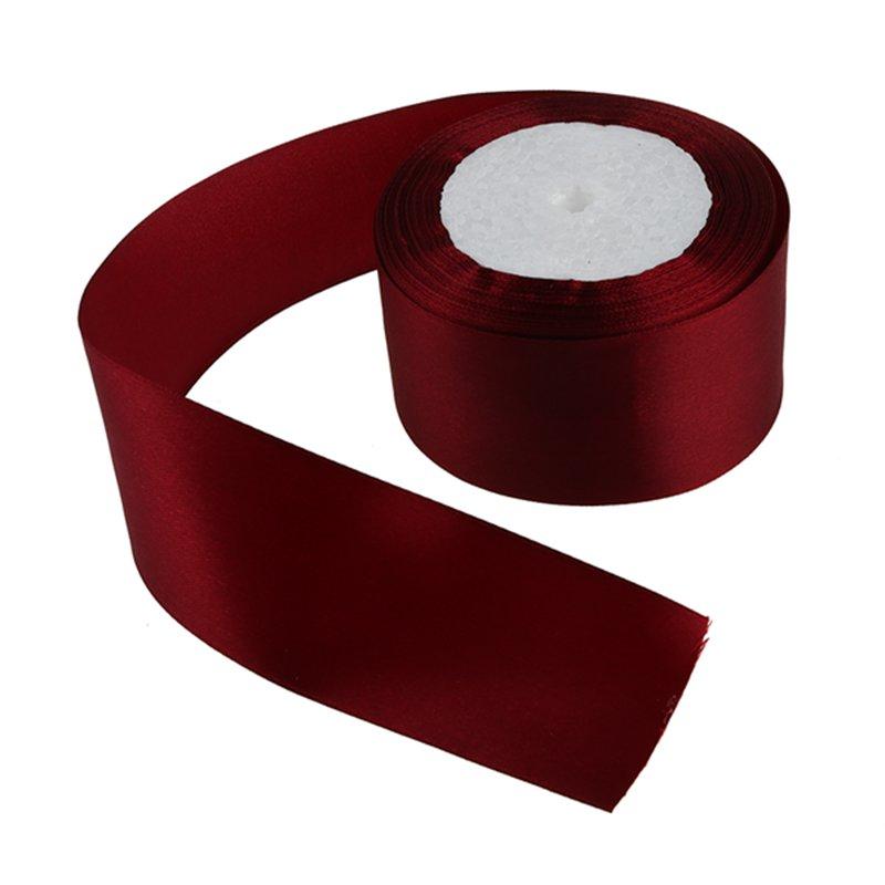 1-Rouleau-25-Metres-Rouleau-2-Pouces-50Mm-Simple-Face-Ruban-de-Satin-T0L8 miniature 37
