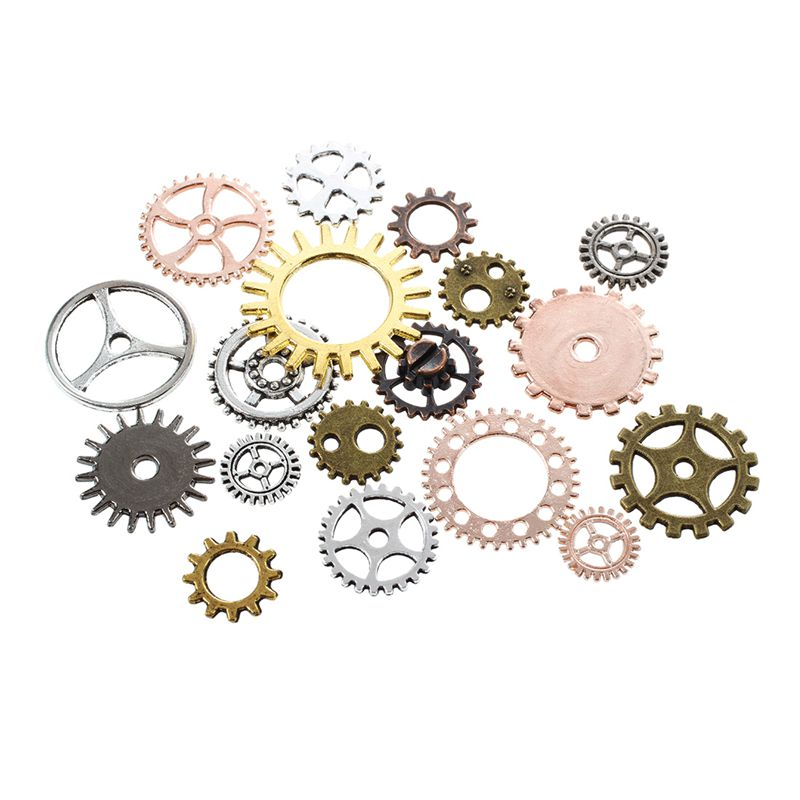 Is Steampunk Jewelry A Craft Or An Art: Steampunk DIY Clock Repair Parts Gears Jewelry Crafts Art