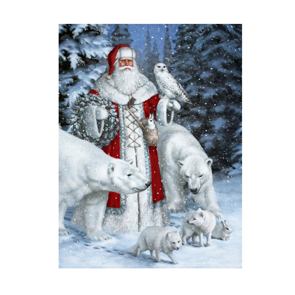 Santa Claus & Animals 5D Diamond Painting Embroidery DIY Paint-By ...