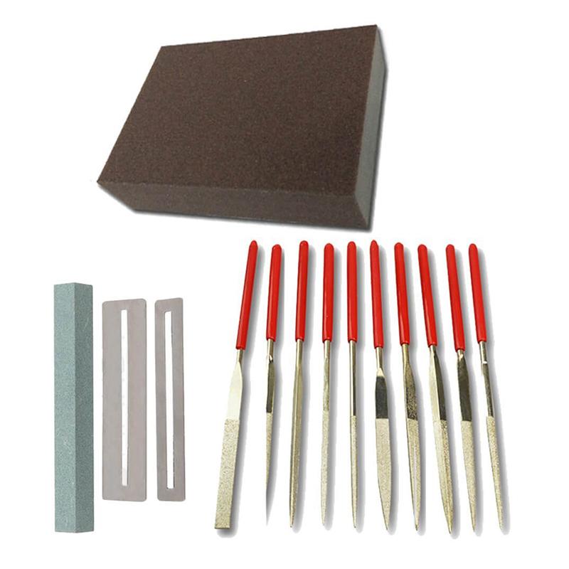 guitar repair kit professional repair maintenance tools silver z8c4 192090038435 ebay. Black Bedroom Furniture Sets. Home Design Ideas