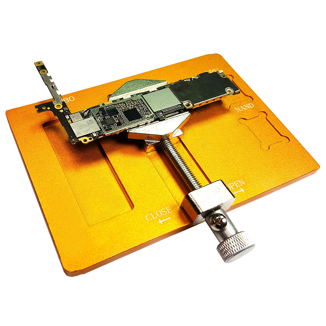 Mobile Phone Cellphone Pcb Fixtures Repairing Circuit Boards Holder Repair Of A Board Used In Pc Computer Royalty Free Clip Tool K4k6