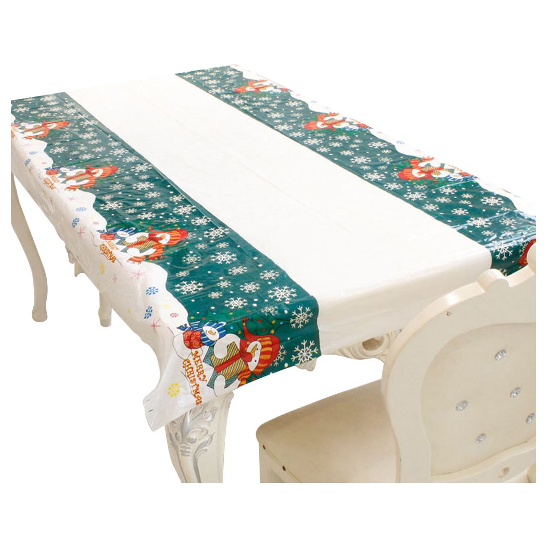 nappe de noel rectangulaire jetable couvercle de table nappe de table oblon y9z7 ebay. Black Bedroom Furniture Sets. Home Design Ideas