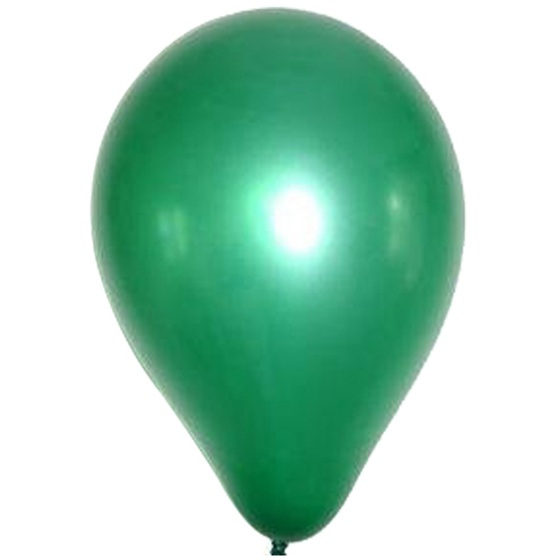 Dark Green 12 Inches Helium Quality Latex Balloons - Pack of 100 S2F9 W4N5