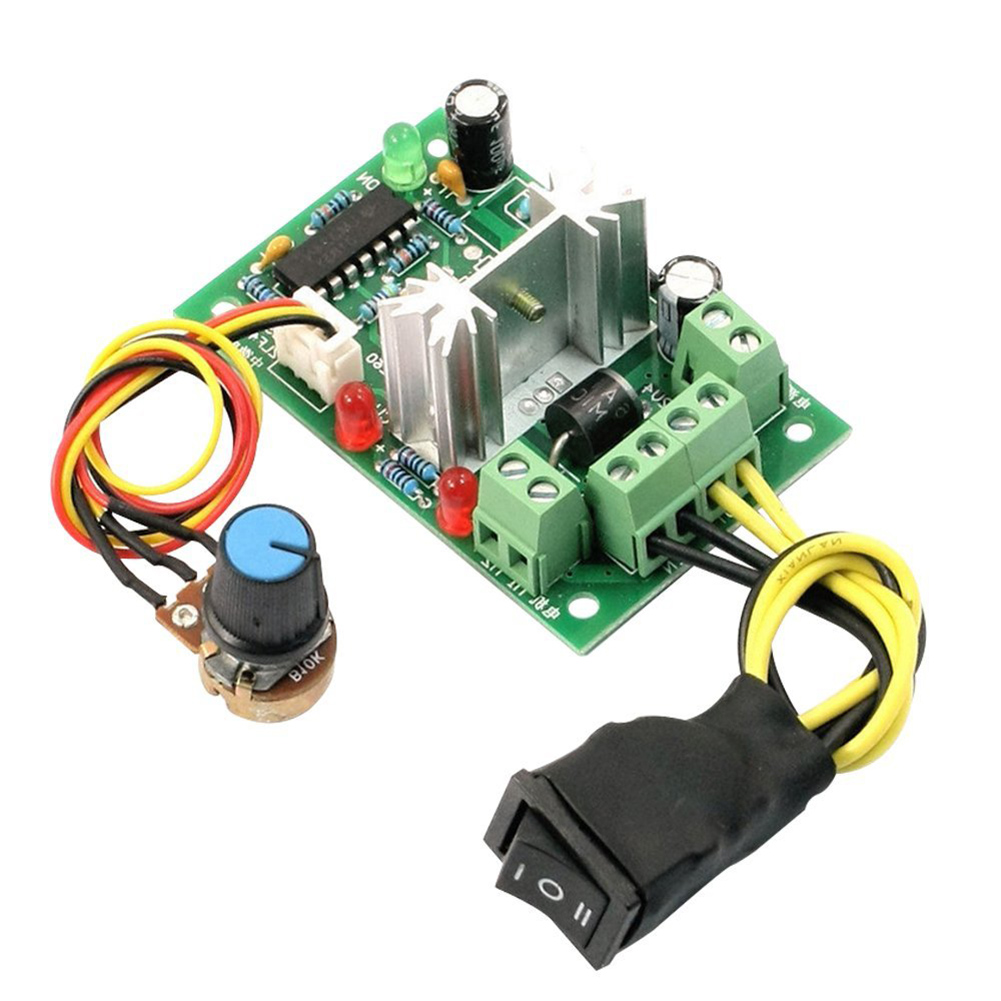 6 30v Dc Motor Speed Controller Reversible Pwm Control Forward Circuit That Can Be Used For Varying The Note Light Shooting And Different Displays May Cause Color Of Item In Picture A Little From Real Thing