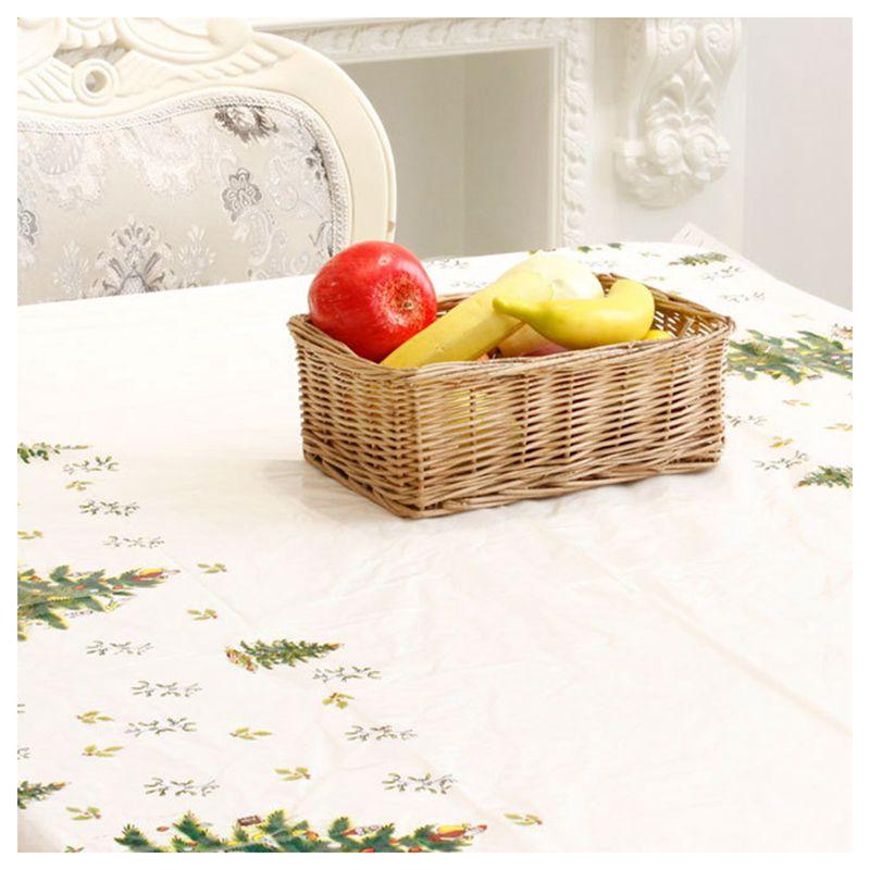 Nappe-de-Noel-rectangulaire-jetable-Couvercle-de-table-Nappe-de-table-oblong-SC miniature 12