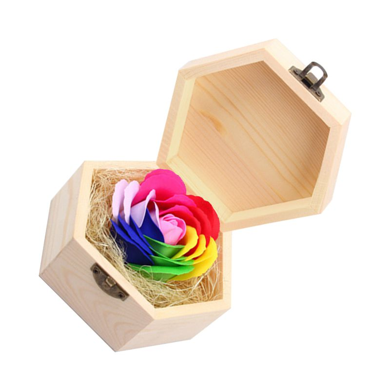 Soap Flowers Gift Box For Birthday Gifts Teacher
