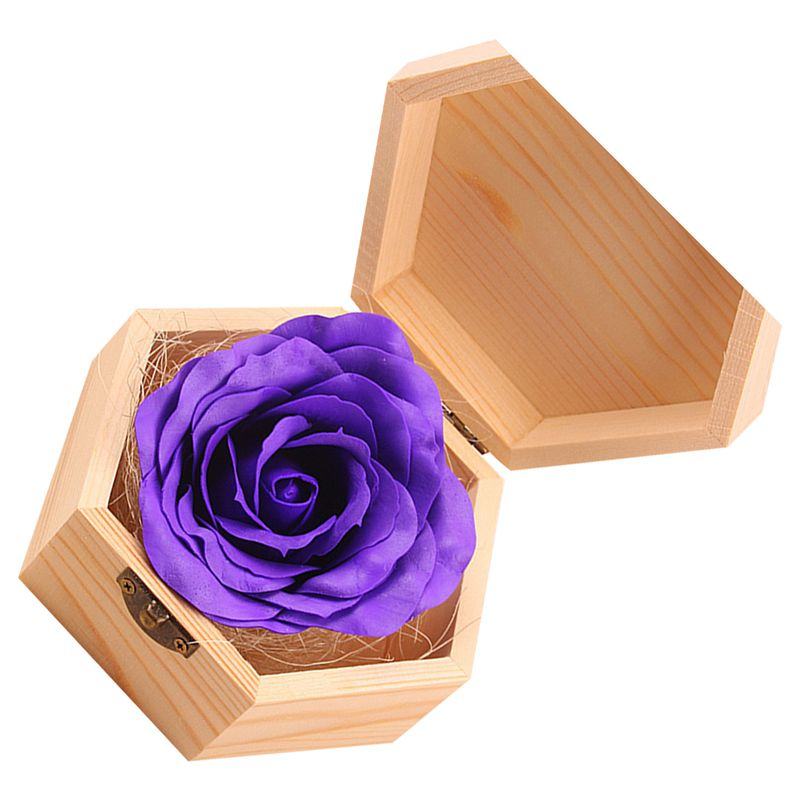 Soap Flowers Gifts Box For Birthday Teacher