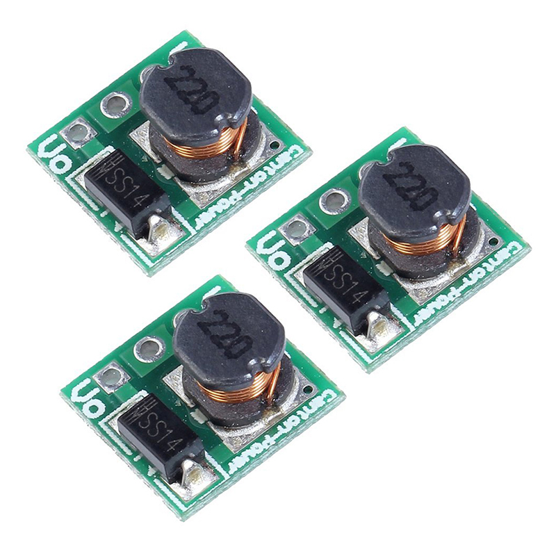 5x(mini Dc Step Up Voltage Regulator Module 0.9-5v To 5v 480ma (Pack Of 3) U6a9