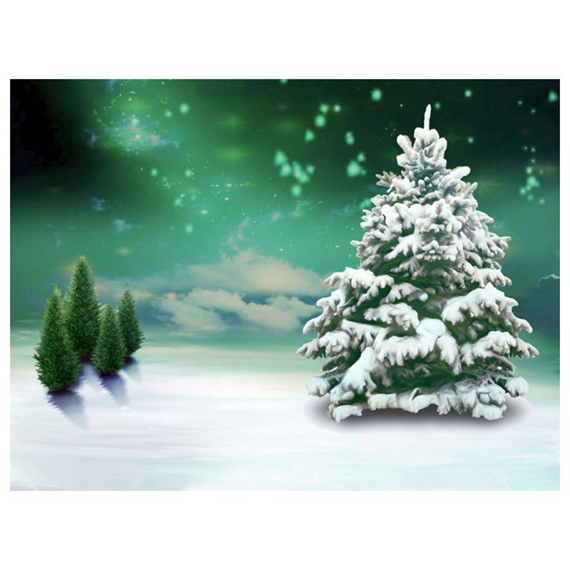5X7FT Christmas theme Photo Background Photography Backdrop Props, Christma S3R4