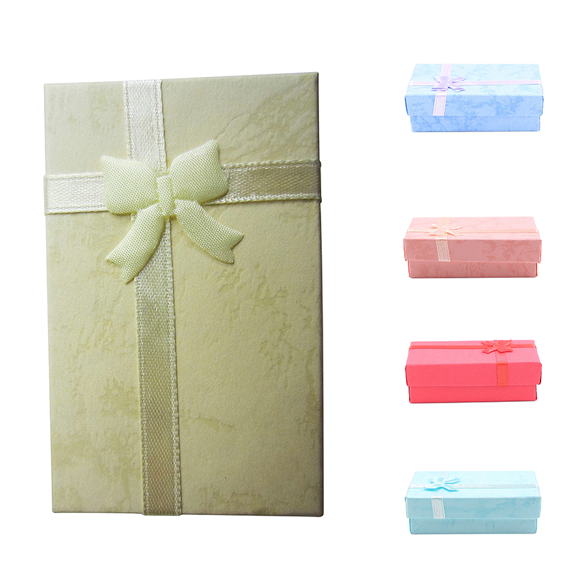1x 12pcs Paper Jewelry Gifts Boxes For Jewelry Display Rings Small
