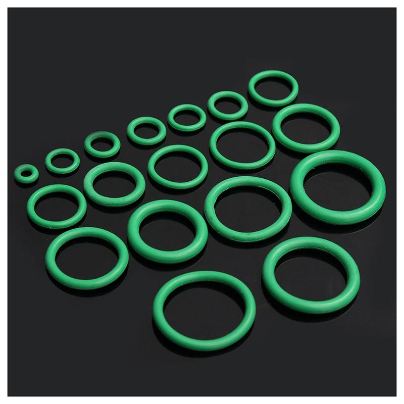 aire acondicionado 205pc HNBR O-Ring Surtido Conjunto Verde