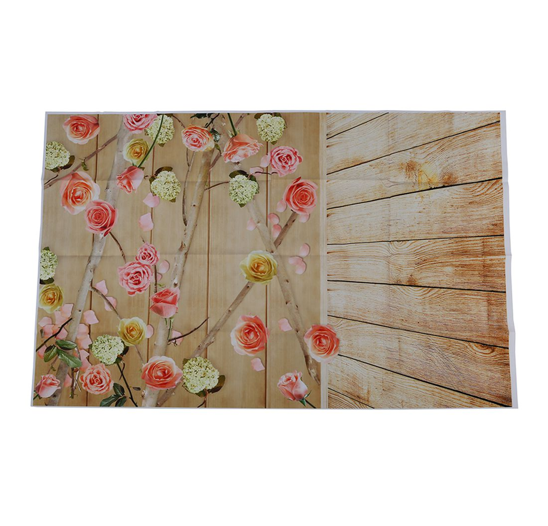 3x5ft flower wood wall vinyl background photography photo studio props - Package Contents 1 X Photography Background Note Light Shooting And Different Displays May Cause The Color Of The Item In The Picture A Little Different