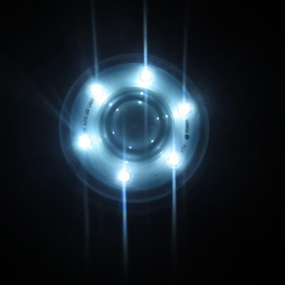 a1 pir 6 led licht lampe infrarot sensor bewegungsmelder von lichtern weiss ebay. Black Bedroom Furniture Sets. Home Design Ideas