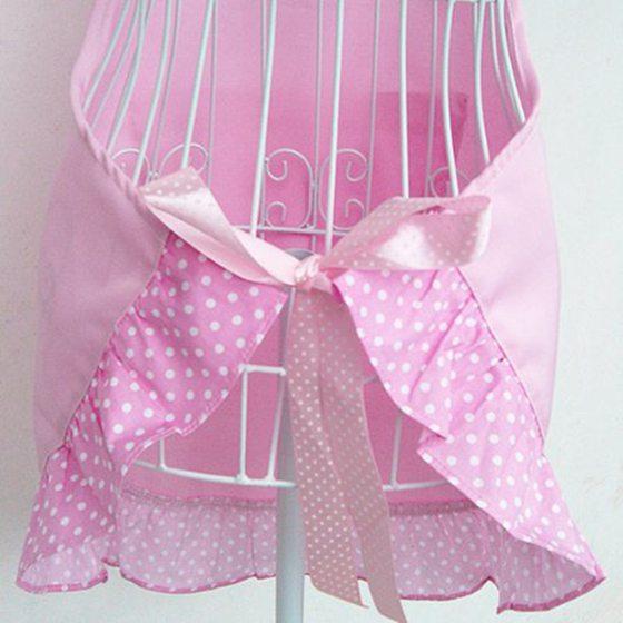Delantal de cocina de Capullo de rosa de parrilla para Cocina de ...