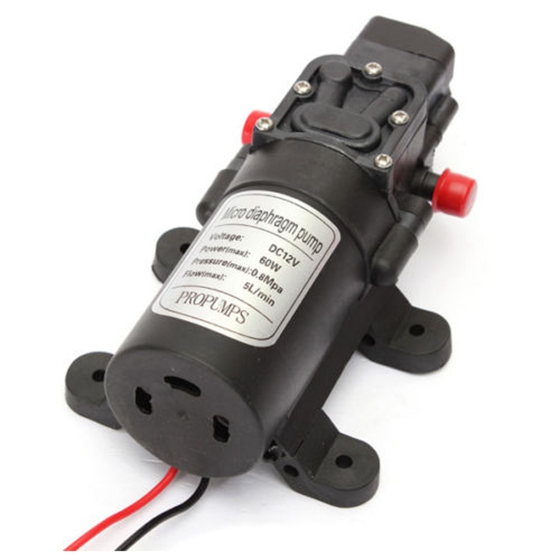 Micro auto motor diaphragm high pressure water pump automatic 115 1x micro diaphragm pump notelight shooting and different displays may cause the color of the item in the picture a little different from the real thing ccuart Choice Image