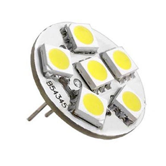6 smd led g4 strahler leuchte lampe birnen warmwei neu dc. Black Bedroom Furniture Sets. Home Design Ideas