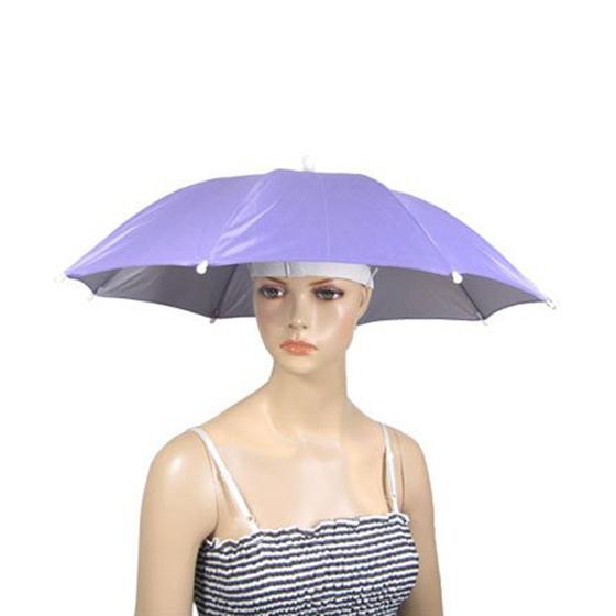 75e78178c53a6 Longitud cerrada  14.4 pulgada. Color externo  Purpura Nombre de producto   mini sombrero paraguas. Esta gorra de sombrilla ...