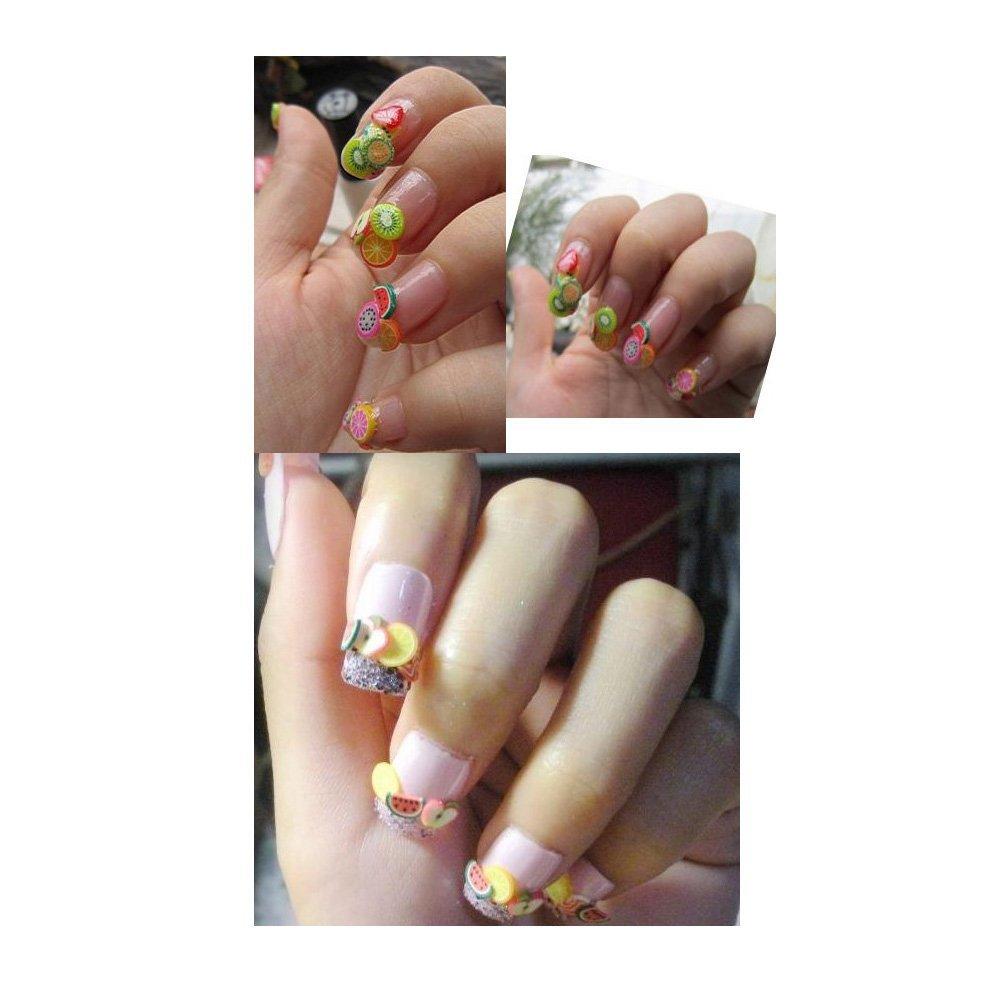100x 3d Designs Nail Art Fimo Canes Sticks Rods Gel Tips Manicure