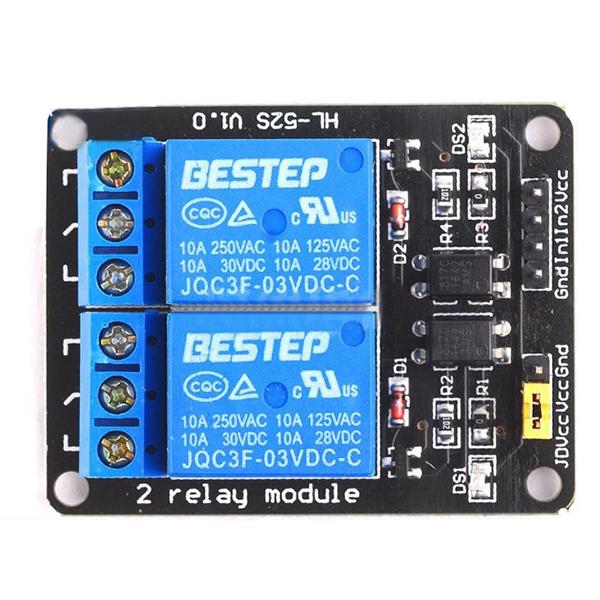 5X-2-way-relay-module-3V-optocoupler-isolation-module-U1I4