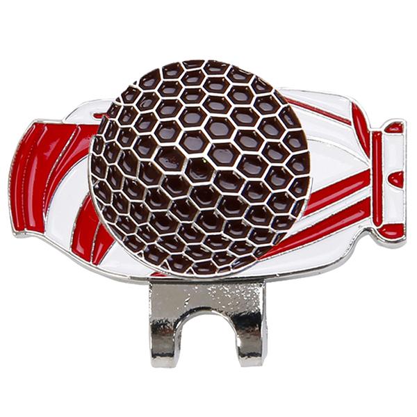 thumbnail 2 - Magnetic Cap Cap Movable Metal Golf Bag Mark Set M4V7