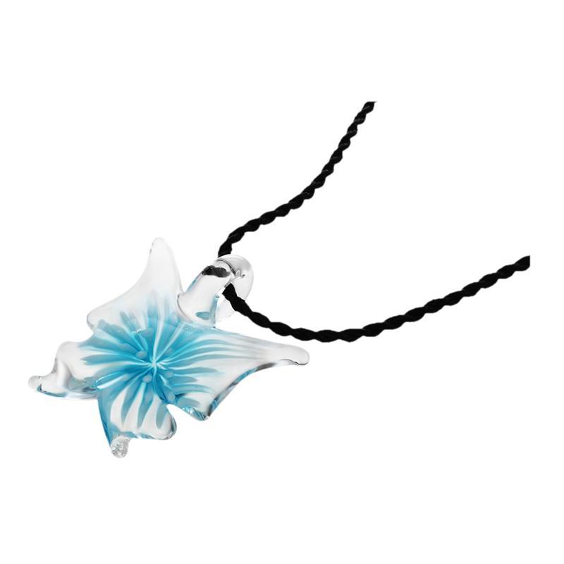 Handmade-Lebensechte-Schmetterling-Lampwork-Kunst-Glasperlen-Anhaenger-Halsk-E5K6 Indexbild 4