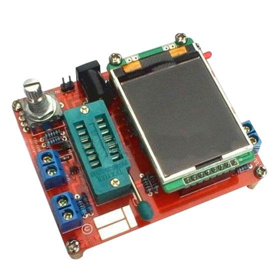 DIY GM328 Transistor Tester LCR ESR meter PWM Square wave Signal Generator Y1B2