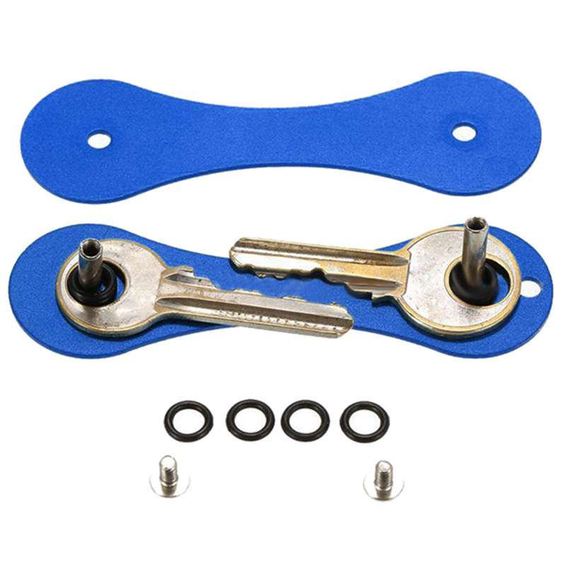 New-Aluminum-Smart-Key-Holder-Organizer-Clip-Folder-Keychain-Pocket-Tool-T3Z2 thumbnail 6