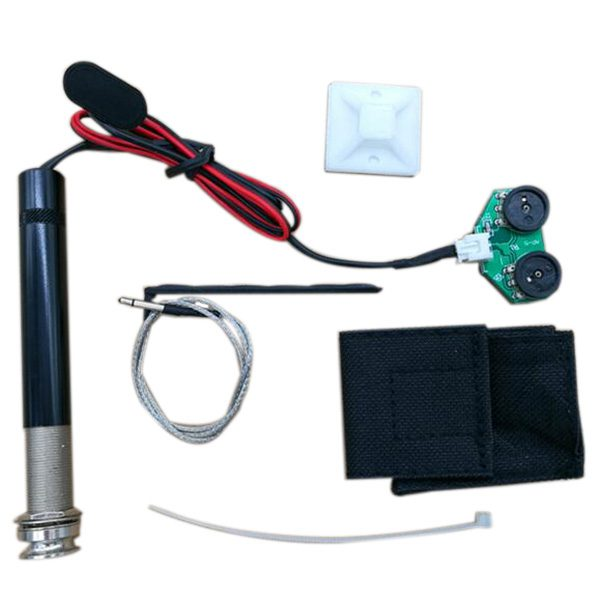 Active Endpin Jack Preamp Piezo Pickup Mounting Base Kit For Acoustic Guita I3V8