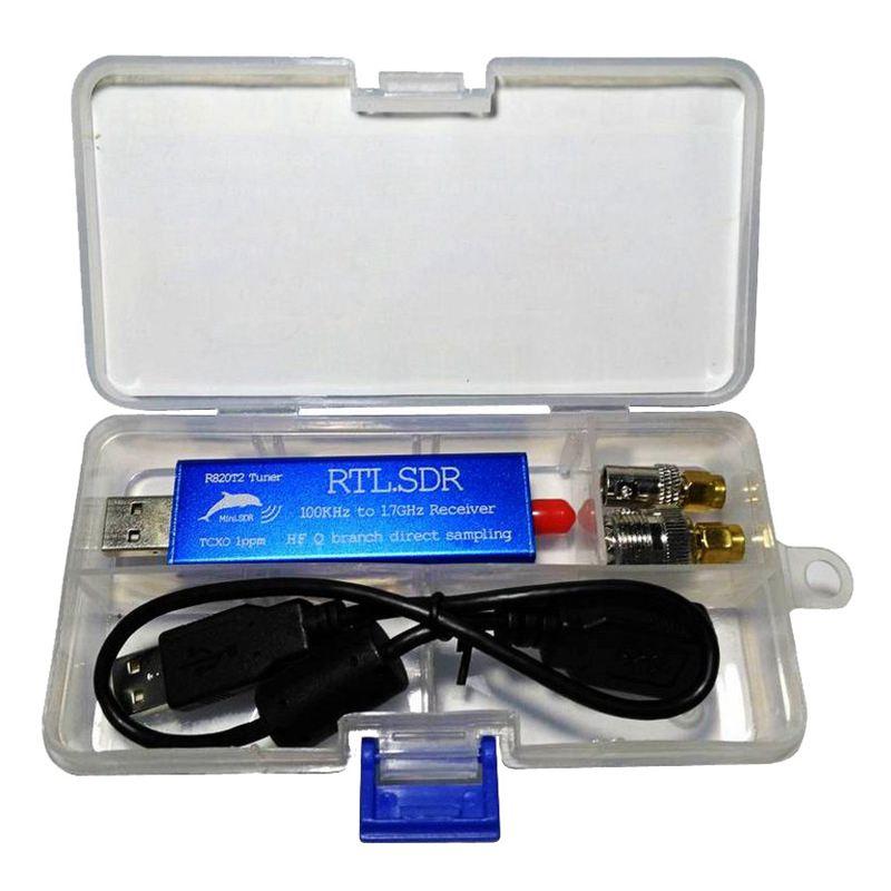 RTL-SDR-2832U-R820T2-0-1MHz-1-7GHz-TCXO-ADSB-UHF-VHF-HF-FM-USB-Tuner-Rece-E2C6